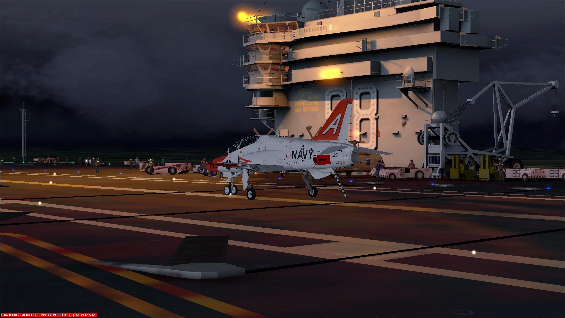 Carrier Flying for all in the Microsoft Flight Sim
